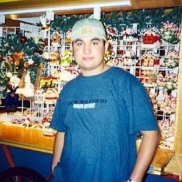 Ahmet Sumbul, 36, Kahramanmaras, Turkey