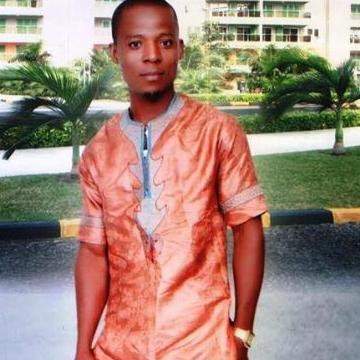 Damian Ozowara, 30, Abu Dhabi, United Arab Emirates