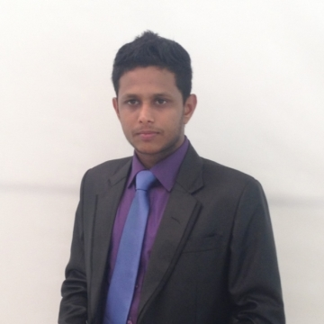Harsha Wijesinghe, 27, Colombo, Sri Lanka