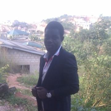 Dominic Appiah, 27, Takoradi, Ghana