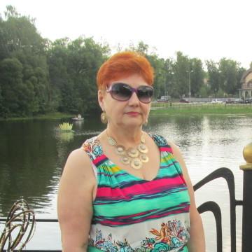 Ираида Гнездилова, 63, Noginsk, Russia