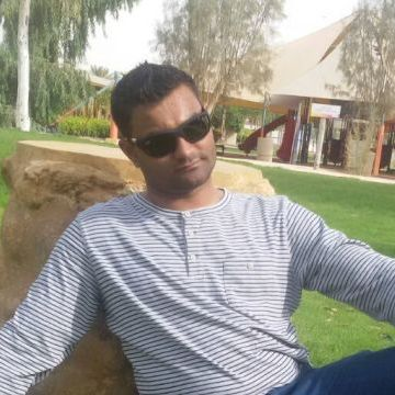 Peter Mathew, 29, Manama, Bahrain