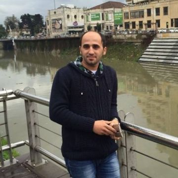 Emin Barakat, 29, Gaziantep, Turkey
