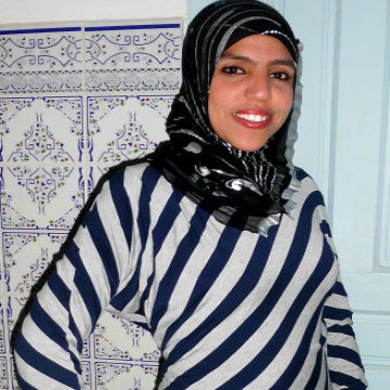 Wafa Gabsi, 30, Tunis, Tunisia