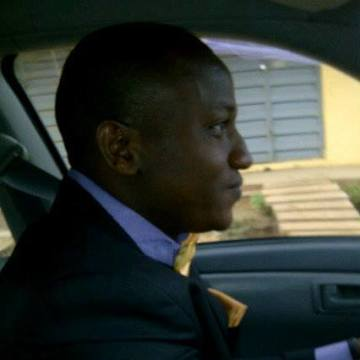 Felix Okolie, 31, Lagos, Nigeria
