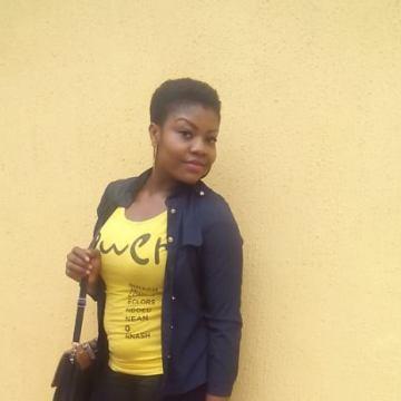Stephine Khaled, 28, Lagos, Nigeria