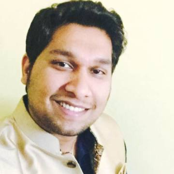 Umair Jamal, 27, Jeddah, Saudi Arabia