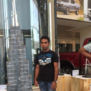 Suranga Dissanayaka, 32, Dubai, United Arab Emirates