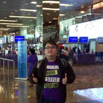 JoJo Raharjo, 30, Surabaya, Indonesia