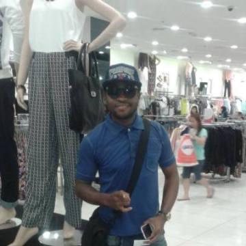 Victor Ekah, 30, Dubai, United Arab Emirates