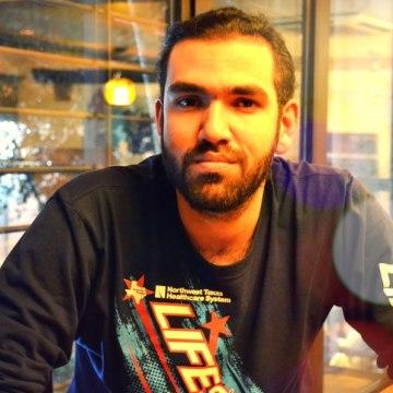 Taha Alani, 27, Bagdad, Iraq
