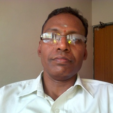 Muthu Krishnan, 51, New Delhi, India