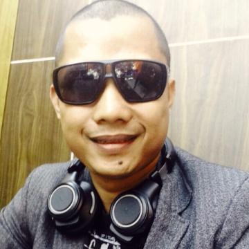 A painter, 31, Yogyakarta, Indonesia