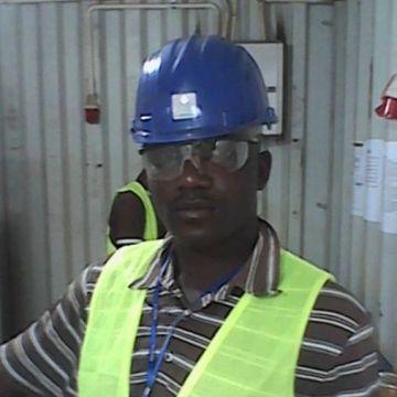 Adolphus G. Doegolia , 32, Monrovia, Liberia