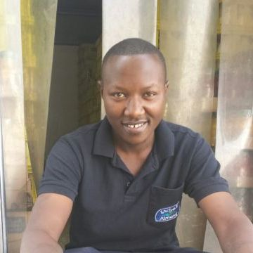 Jackson Mwangi, 29, Nairobi, Kenya