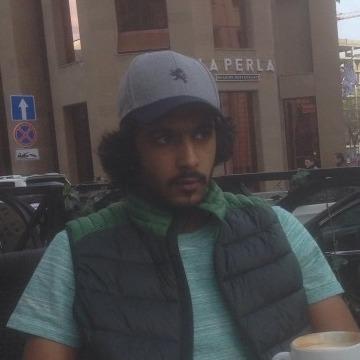 Saed, 20, Abu Dhabi, United Arab Emirates