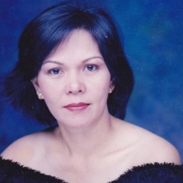 Rowena Mendoza, 50, Lipa, Philippines