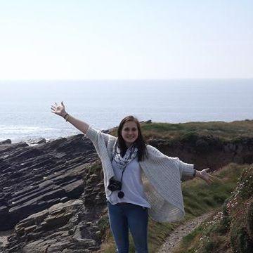 Julie Gaud, 20, Enniscorthy, Ireland