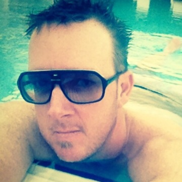 Geoff Brown, 47, Dubai, United Arab Emirates