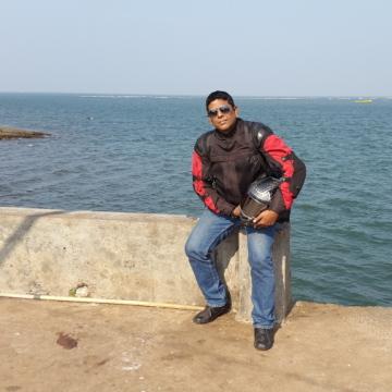 Mike Dsouza, 44, Colva, India