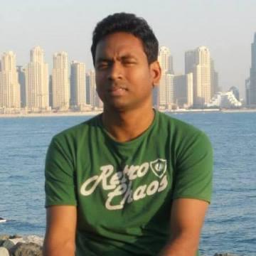 Bahirathan Rudran, 39, Dubai, United Arab Emirates