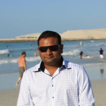 Satish Gaja, 31, Abu Dhabi, United Arab Emirates