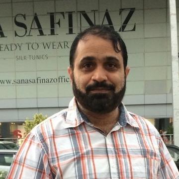 Iftikhar H Anjum, 48, Dammam, Saudi Arabia