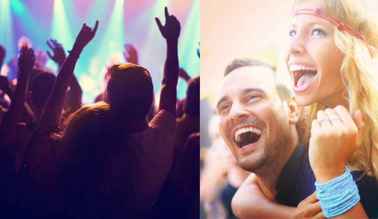 Travel partners to music festivals