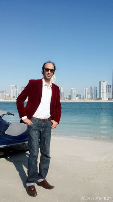 Farhan Qureshi, 40, Dubai, United Arab Emirates
