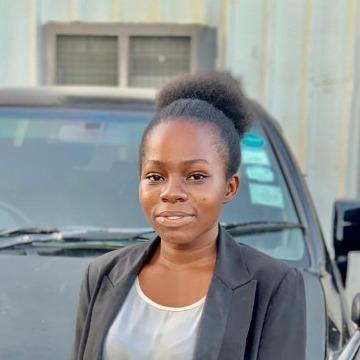 Jacqueline Mwaigomole, 22, Dar es Salaam, Tanzania