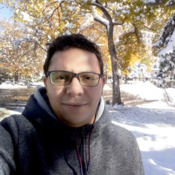 Ibrahim Ahmed, 33, Cairo, Egypt