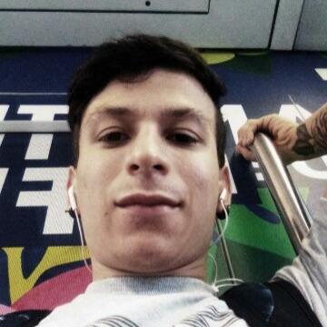 Carlos Garcia, 26, Medellin, Colombia