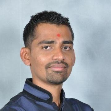 Shreyas Patel, 29, Vadodara, India