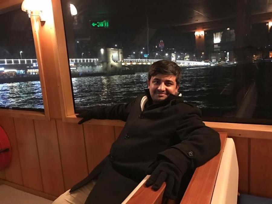 Salman Hassan, 30, Lahore, Pakistan