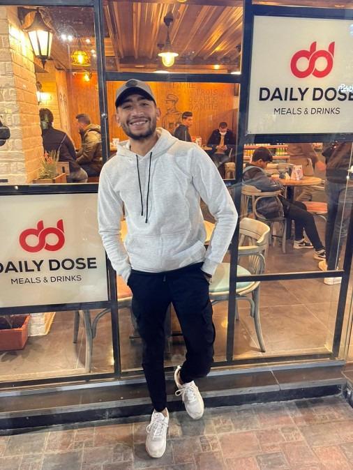 Mostafa Ali, 24, Cairo, Egypt