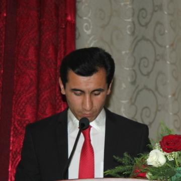 Nomvar Kurbonov, 31, Dushanbe, Tajikistan