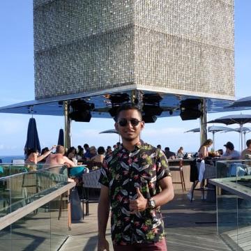 Yonatan Aditya Eka Putra, 25, Denpasar, Indonesia