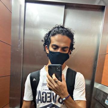 Mohab A. Hebo, 26, Alexandria, Egypt