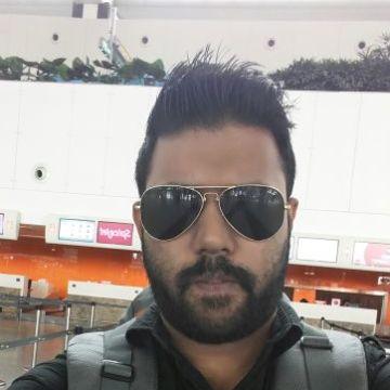Kevin Durom, 33, Kochi, India