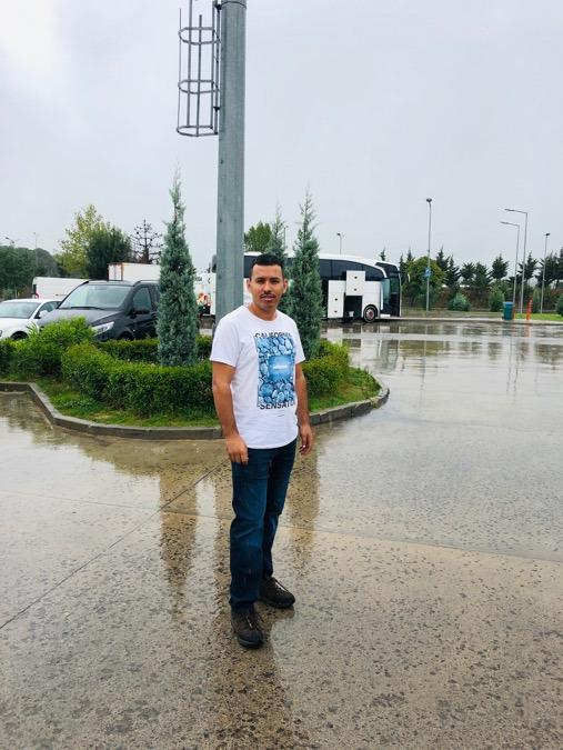 Rouf Mousa, 33, Istanbul, Turkey