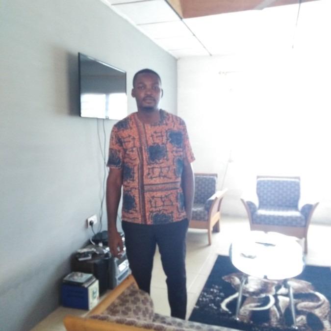 Lucky, 27, Accra, Ghana