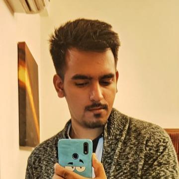 Naman Sharma, 24, New Delhi, India