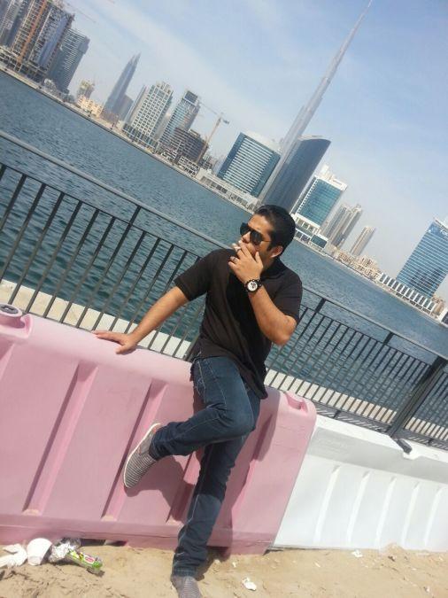 Mohammad Saif, 30, Sharjah, United Arab Emirates