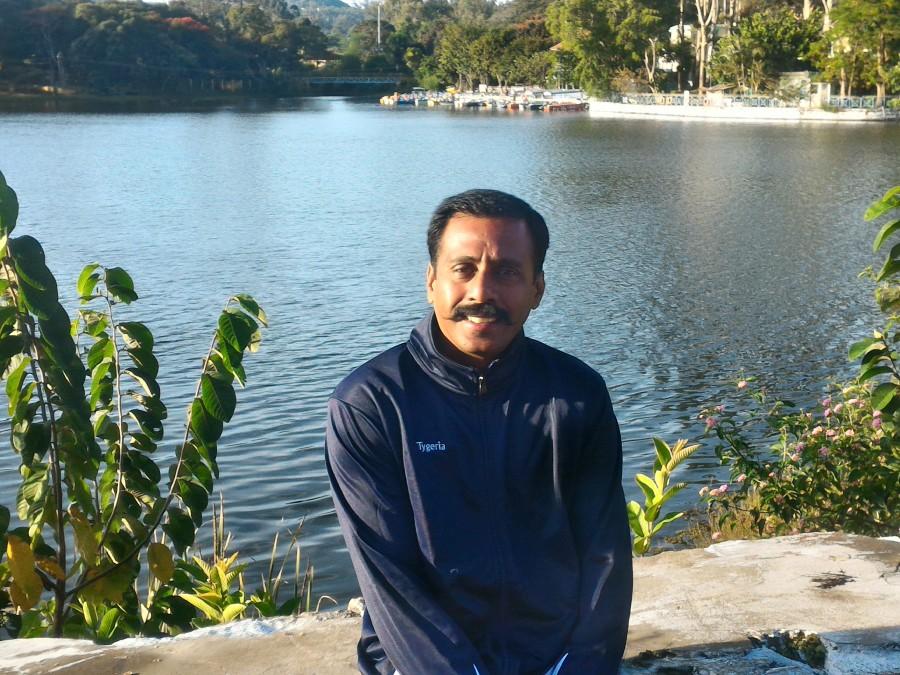 Shankar Nagarajan, 44, Chennai, India