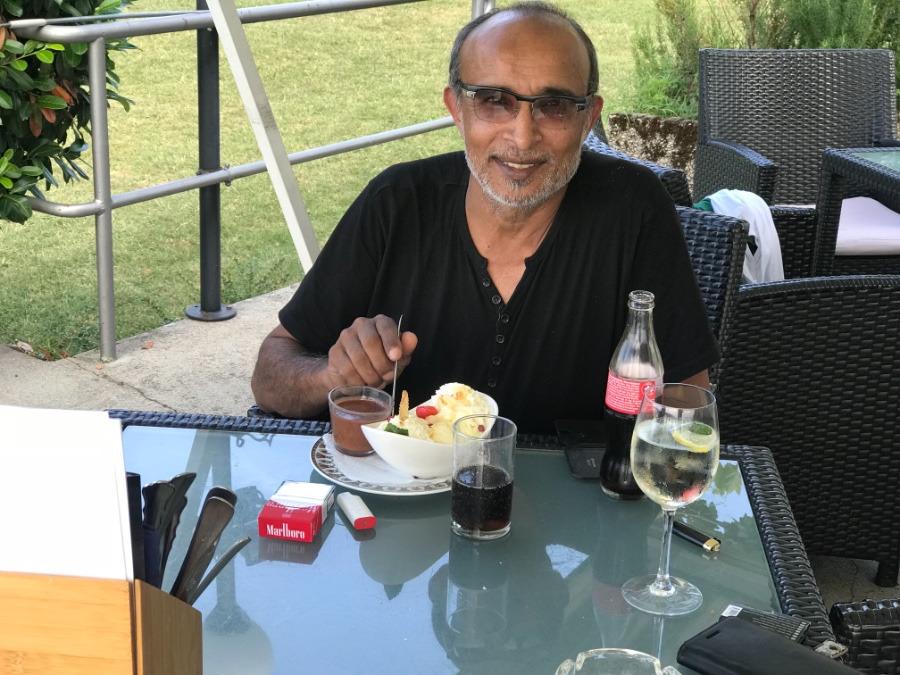 Makbool Khan, 46, Berne, Switzerland