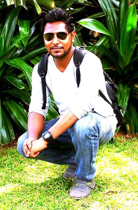 Mahesh Sanjeewa, 33, Colombo, Sri Lanka