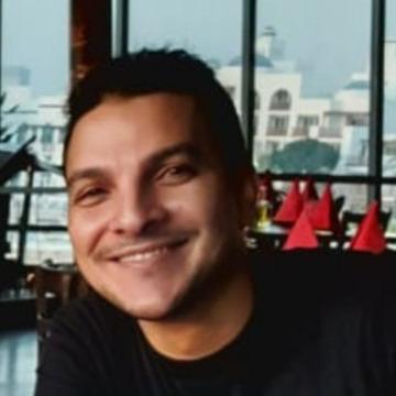 Khaled Eid, 28, Abu Dhabi, United Arab Emirates