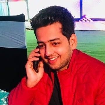 Vishal Choudhary, 25, New Delhi, India