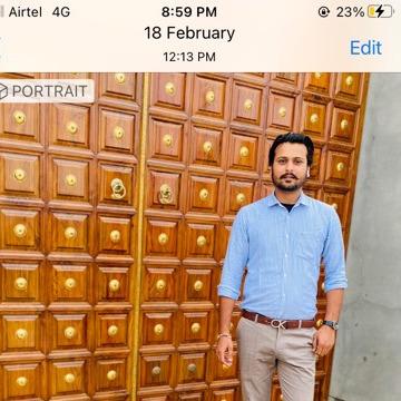 Kuldeep singh, 26, Chandigarh, India