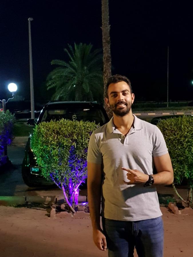 Omar Amer, 27, Cairo, Egypt